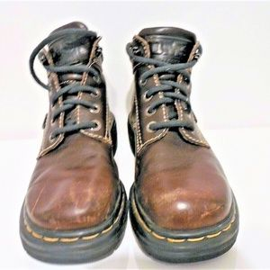 Dr. Martens Mens Leather Boots Non-Steel Toe